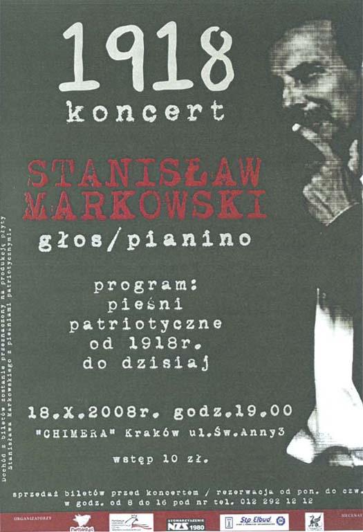 koncetanisław Markowski