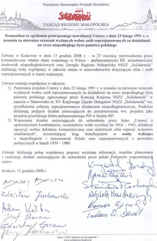 solidarność_nowelizacja ustawy